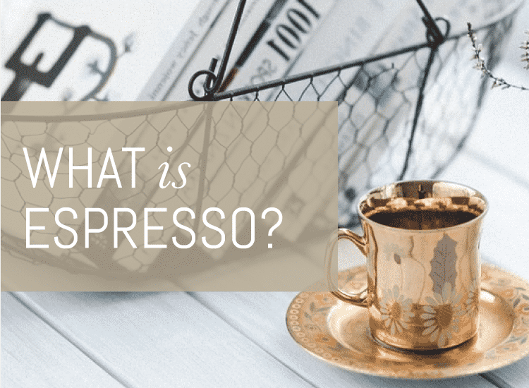 what is espresso