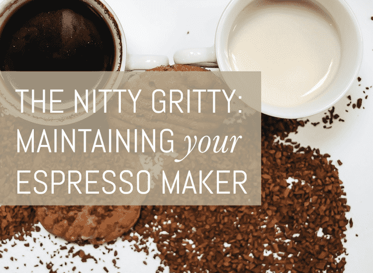 maintaining you respresso machine