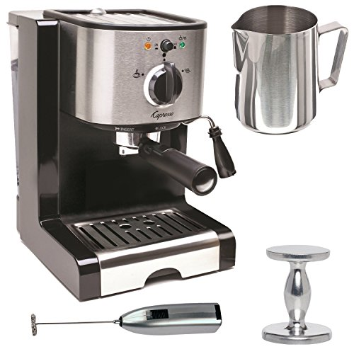 Entry Level Choice Capresso Ec100 Pump Espresso And Cuccino Machine