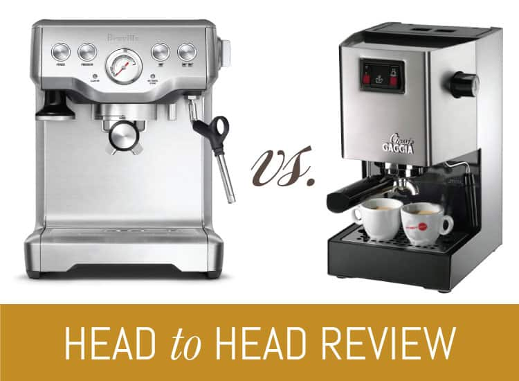 Gaggia Classic vs. Breville Infuser | What\'s Best for you?