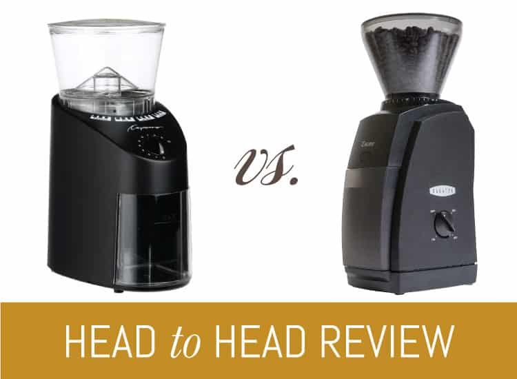 Capresso 560 01 Infinity Vs Baratza Encore Epic Match Up