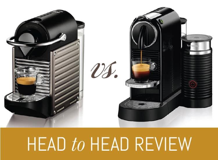 Nespresso Pixie vs. Nespresso Citiz Epic Match-up!