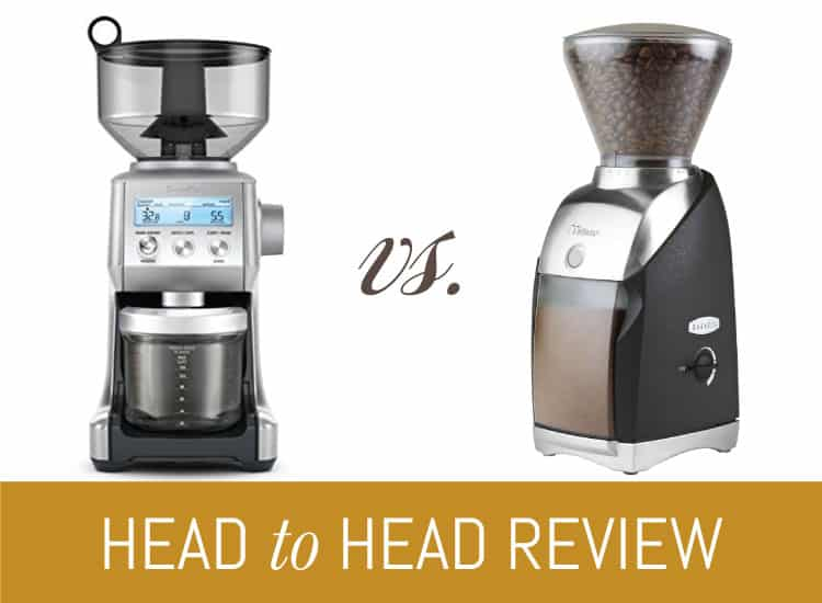 Breville Smart Grinder Pro Vs Baratza Virtuoso What S