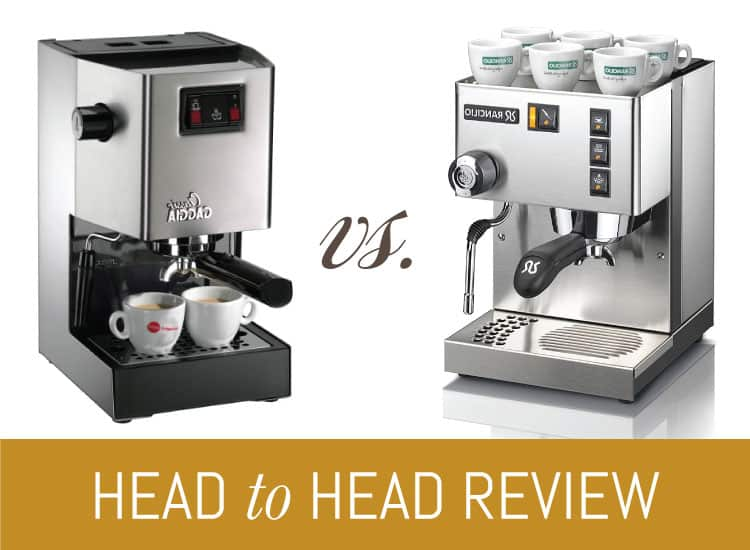 gaggia classic vs rancilio silvia what 39 s best for you. Black Bedroom Furniture Sets. Home Design Ideas