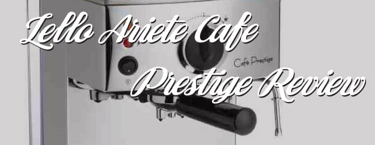 Lello 1375 Ariete Cafe Prestige Coffee Maker Review
