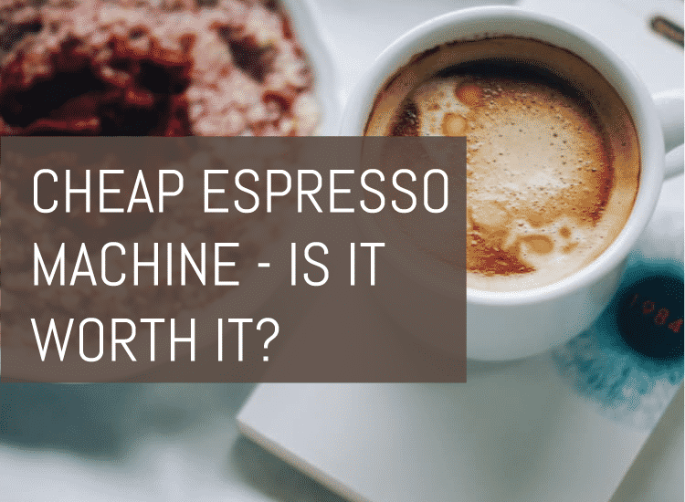 cheap espresso machine