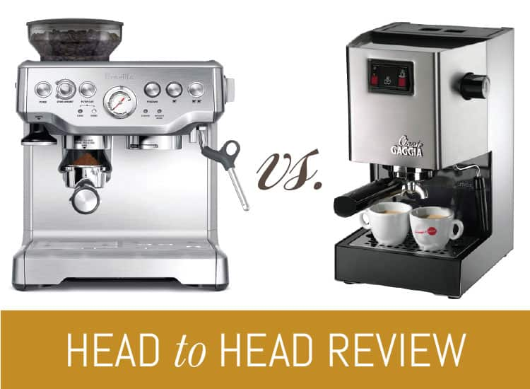 Breville Barista Express Vs Gaggia Classic Epic Match Up